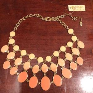 Two sided layered necklace